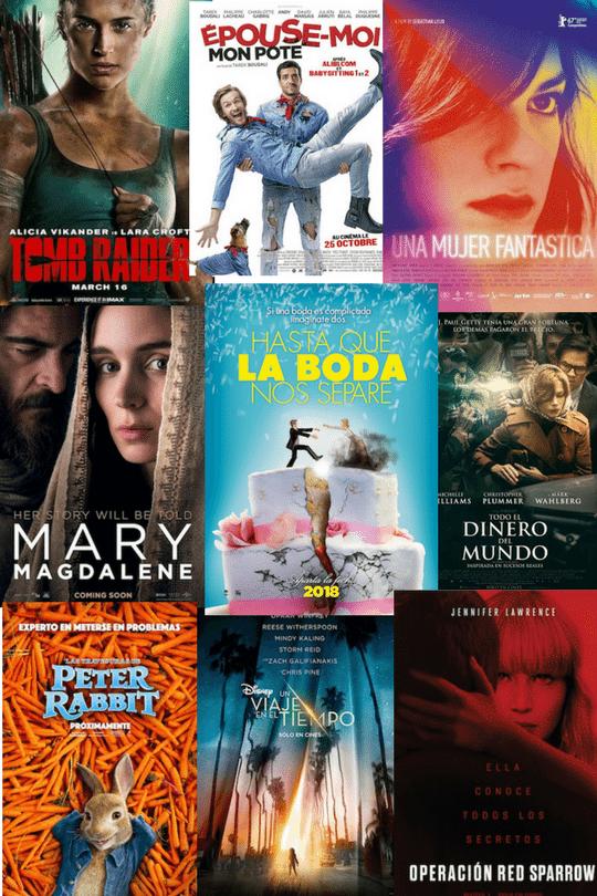 Peliculas Estrenos Marzo Carteleras de Cine 2018