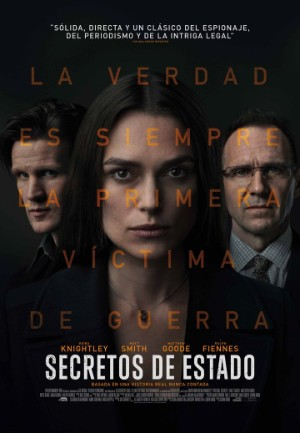 Secretos de Estado - Official secrets pelicula 2019 carteleras